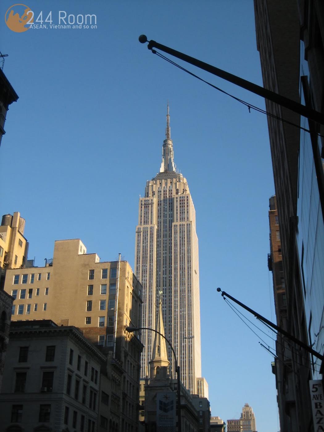 エンパイアステートビル Empire state building