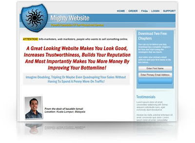 Mighty Minisite Template Pack MRR Free Download
