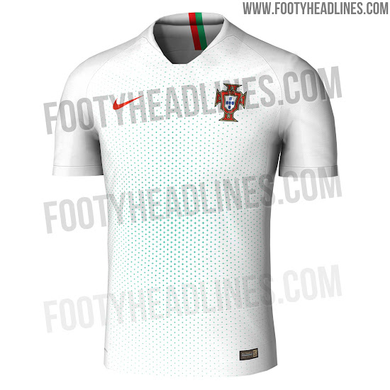 70e2d0024 Portugal s World Cup 2018 home jersey is based on the same template as all  other Nike 2018 World Cup kits. It combines the colors red and golden.