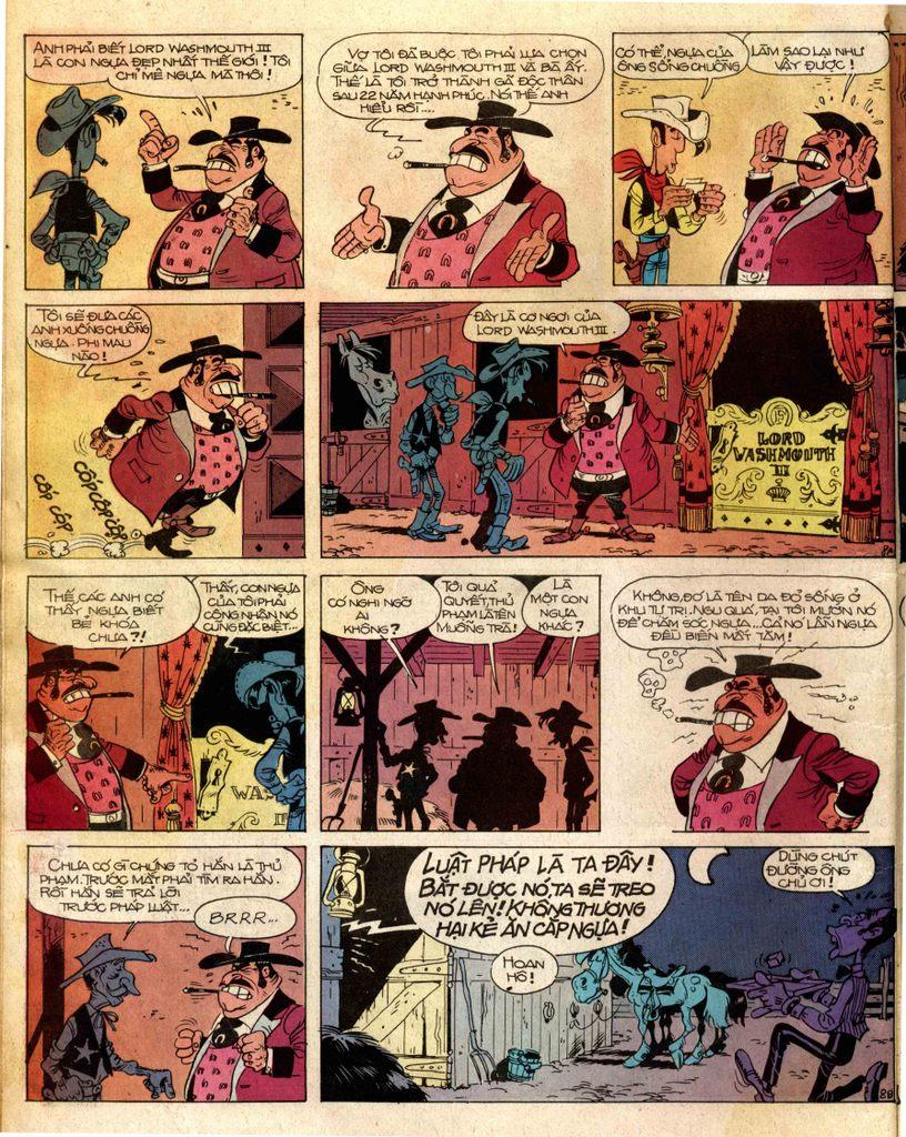 Lucky Luke tap 2 - ke san tien thuong trang 8