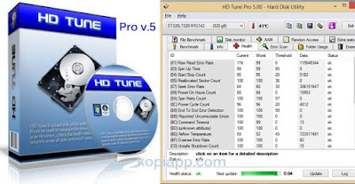 HD Tune Pro 5 Full Version - Software cek Hardisk