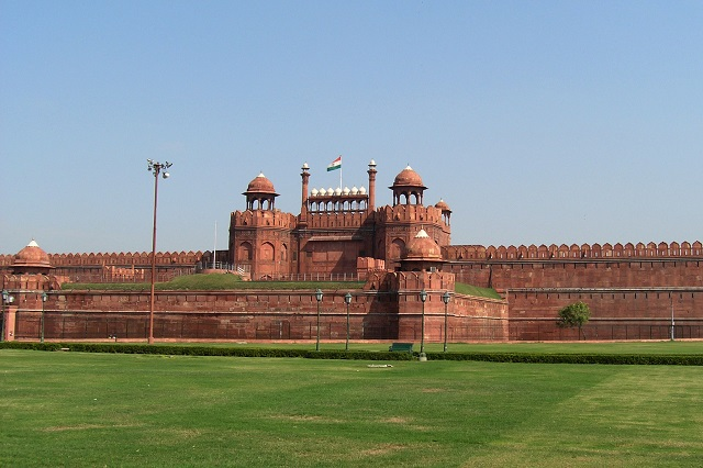 Red Fort, Delhi  IMAGES, GIF, ANIMATED GIF, WALLPAPER, STICKER FOR WHATSAPP & FACEBOOK