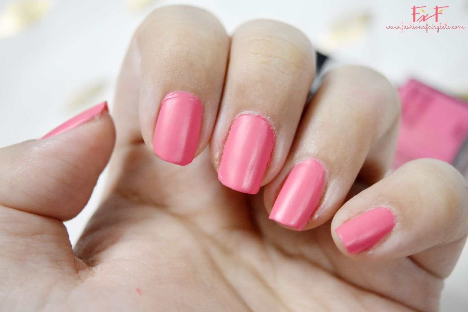 BYS Matte Pink Nail Polish Review - Fashion Fairytale