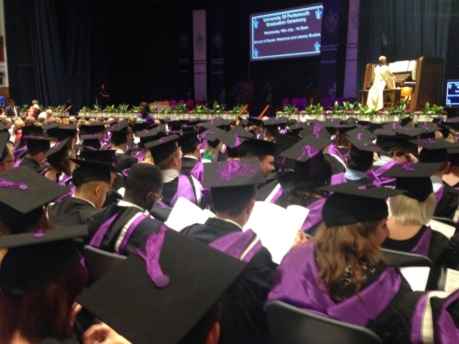 graduation graduate university of portsmouth journalism