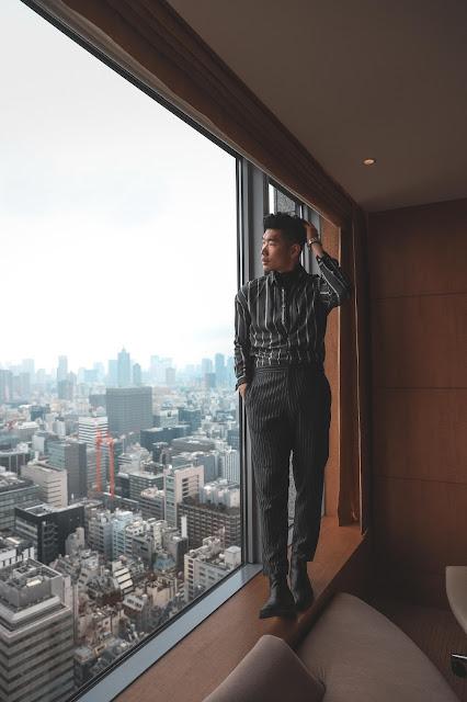 Levitate Style, Shangri-La room view in Tokyo Japan