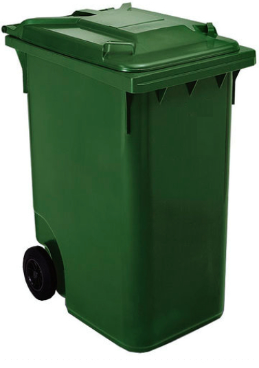 Supplier Of Industrial Plastic Waste Bins With Wheels And
