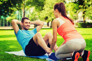 shutterstock_235460434 Get Flirty With Your Fitness: Working Out As A CoupleFitness