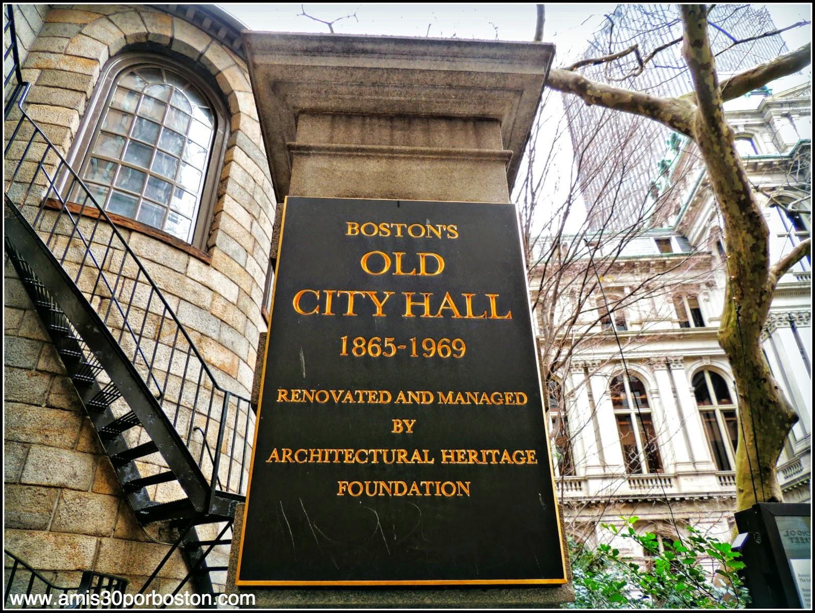 Ayuntamiento Viejo de Boston