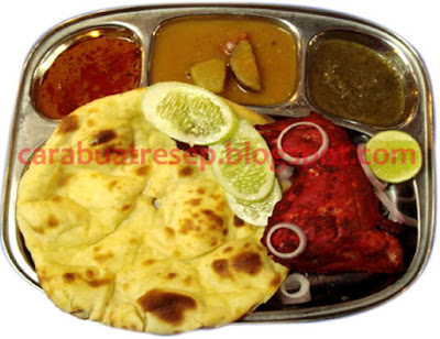 Foto Resep Roti Naan cheese ayam tandoori Makanan Khas India Sederhana Spesial Lembut dan Empuk Asli Enak