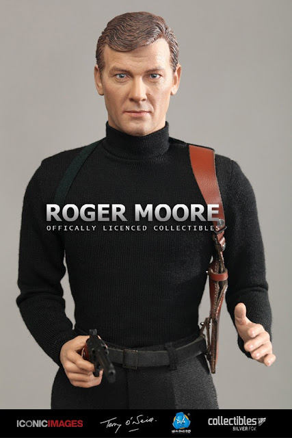 osw.zone DID 1/6 Roger Moore as James Bond (officially licensed) 12 inch collectible figure