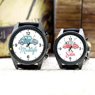 isme özel çift saatleri