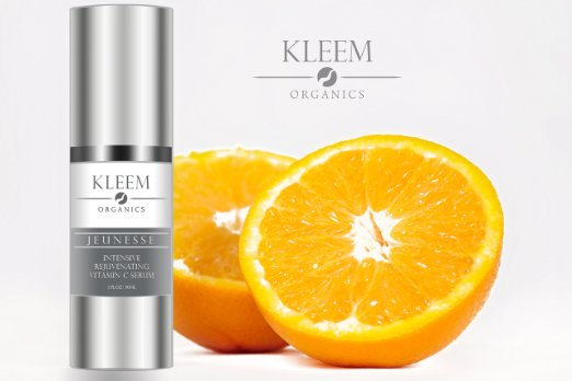 Kleem Organics logo and serum.jpeg