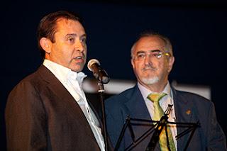 Enrique Bayona, Juan José Moles, cantando jota, los collóns de mon yayo los van pesá en romanes