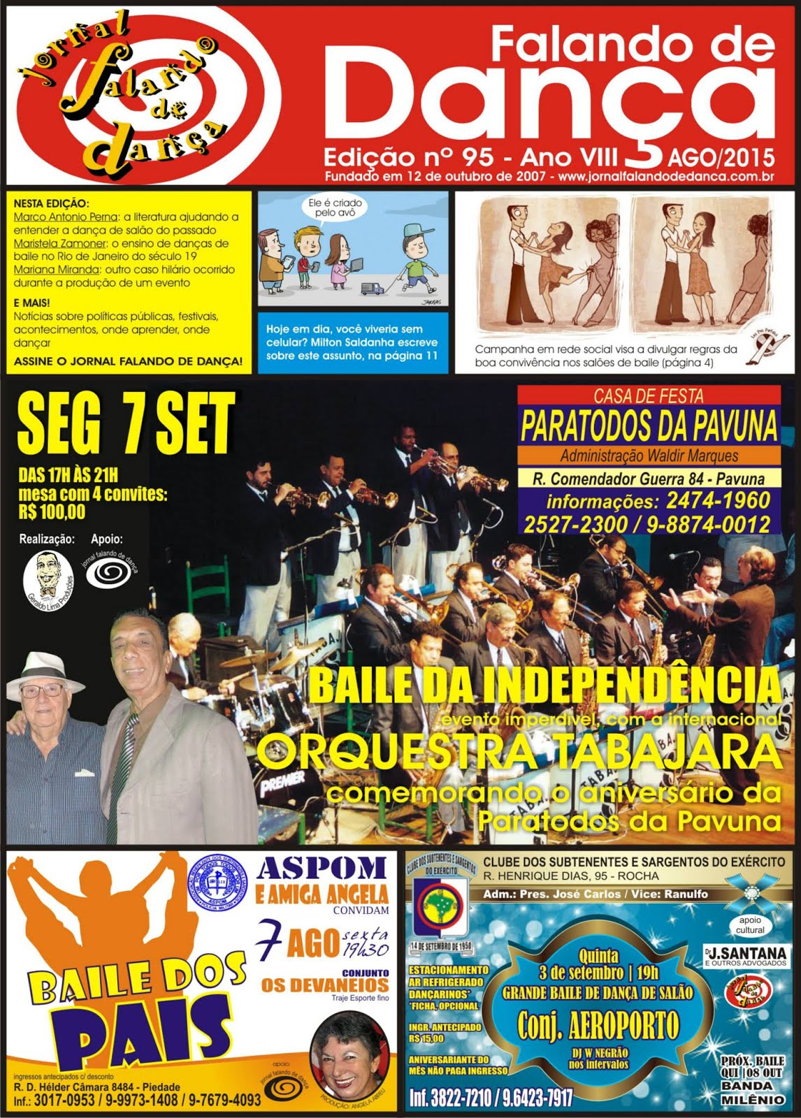 Leia on line a ed 95 (Agosto/2015)