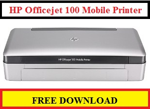 HP Officejet 100 Mobile Printer Free Download