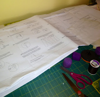 pattern sheet for hotpatterns classsic nouveau dressy jeans