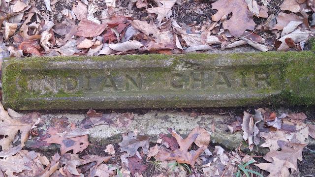 Indian Chair--woodland walk