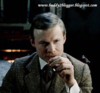 Vitaly Solomin as Dr John Watson in Bloody Inscription
