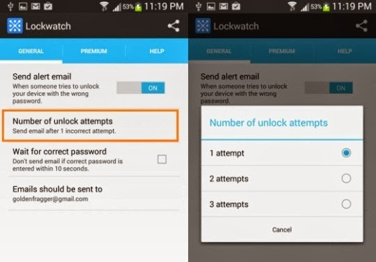 How to Know Who Tried to Unlock Your Android Phone