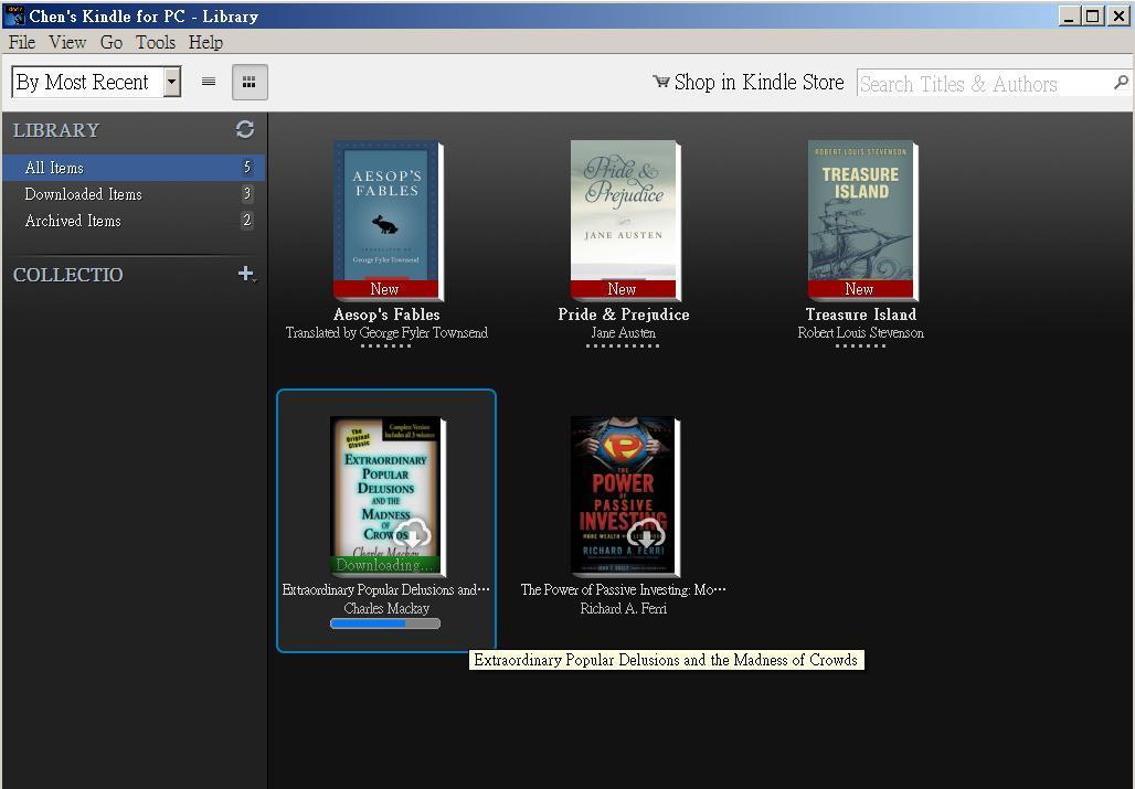 綠角財經筆記: 我的Kindle Touch經驗--- Kindle eBook購買與下載