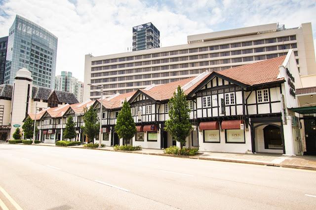 Le shop house (case coloniali) del Tudor center-Singapore