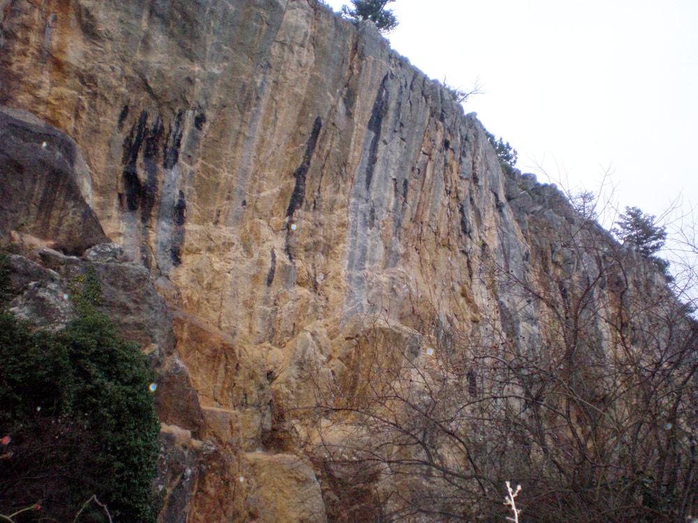 Южная стена Никитской скалы
