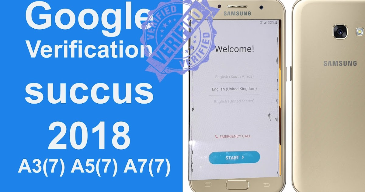 how to bypass Google verification on Galaxy A320F / A520F / A720F