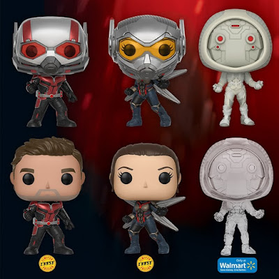 Ant-Man and the Wasp Pop! Marvel Vinyl Figures by Funko
