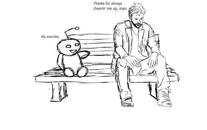 sad keanu and reddit
