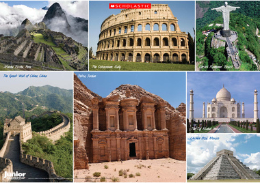 Seven Wonders Of The World Pdf
