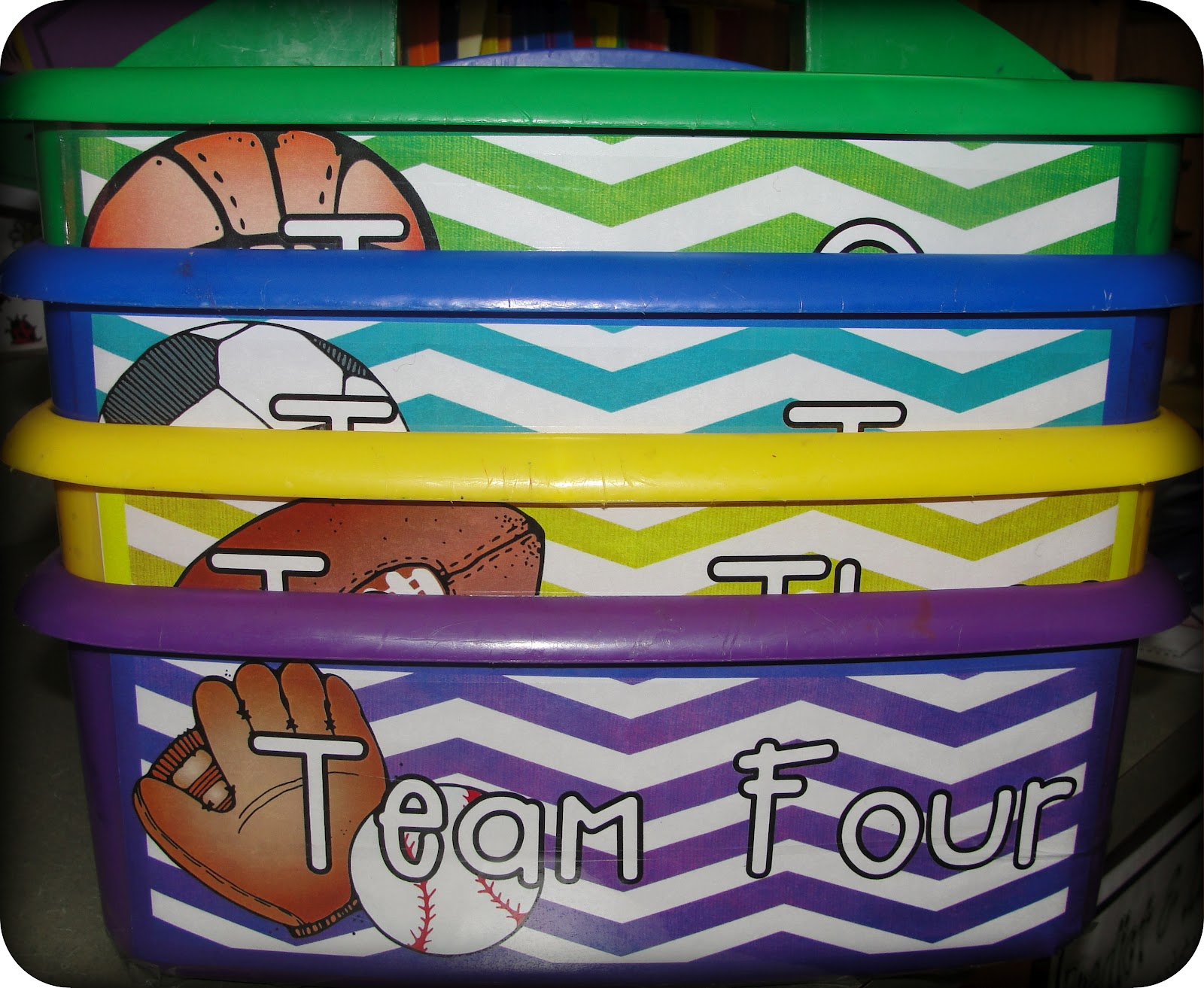 Classroom Theme, Sports Themed, Table Bucket, 2Nd Grades