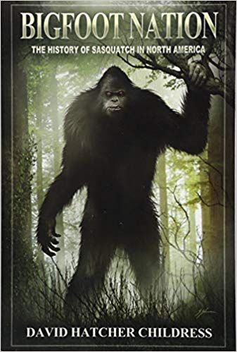 Monthly Book Cover Contest Winner : Bigfoot Nation