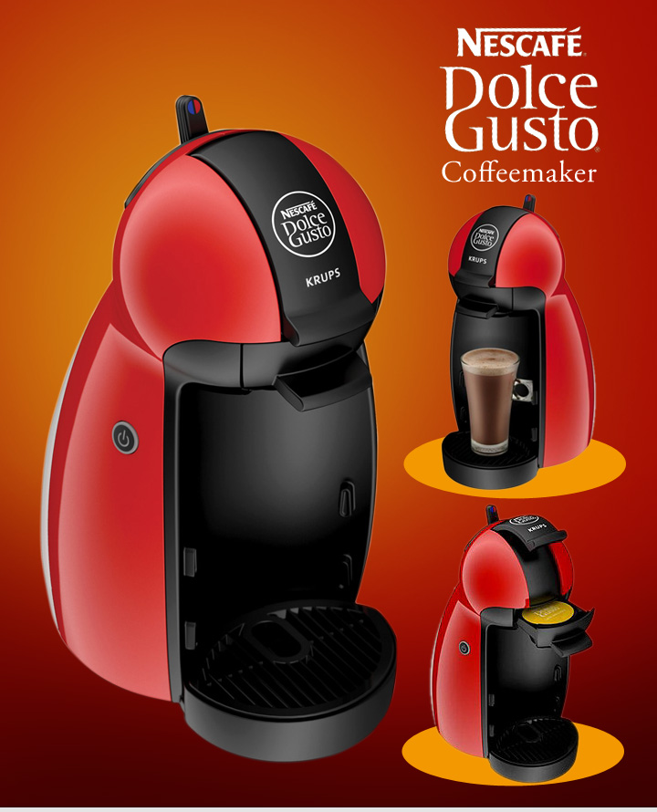 nescafe dolce gusto piccolo in red starter kit on sale mrsmartinez 39 s raves and rants a. Black Bedroom Furniture Sets. Home Design Ideas