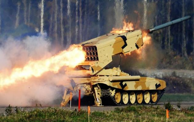TOS-1 Buratino: Το οπλικό σύστημα – προσωποποίηση της ρωσικής δύναμης πυρός (ΒΙΝΤΕΟ)