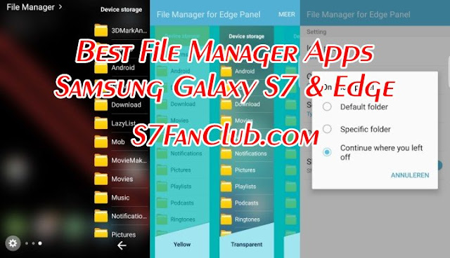 Best Galaxy S7 File Manager Apps Download