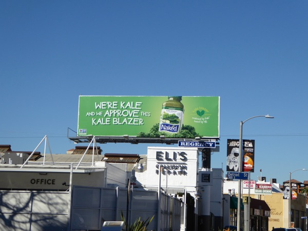 approve this Kale Blazer Naked billboard
