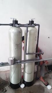 filter air untuk menghilangkan kekeruhan, endapan , warna kuning dan kandungan besi