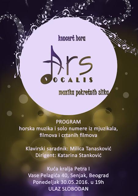 """Koncert hora """"Ars vocalis"""""""