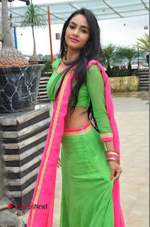 Actress Pooja Sri Pictures at Dandiya Navrang Utsav 2016 Curtain Raiser Event  0069.JPG