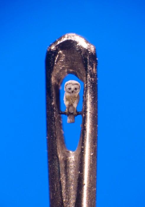 Миниатюрные скульптуры Уиллард Уигана 15
