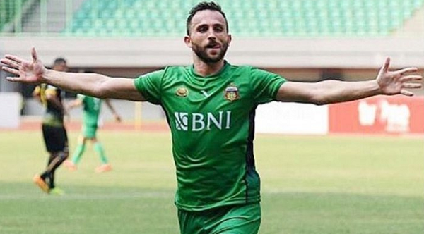 Resmi! Ilija Spasojevic Hijrah dari Bhayangkara FC