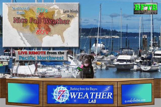 BFTB NETWoof's Weather Lab Paisley live remote from the Pacific NW