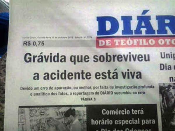 As notícias mais sem noção do Brasil 13/09/2015