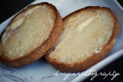 Gluten Free English Muffins with Butter