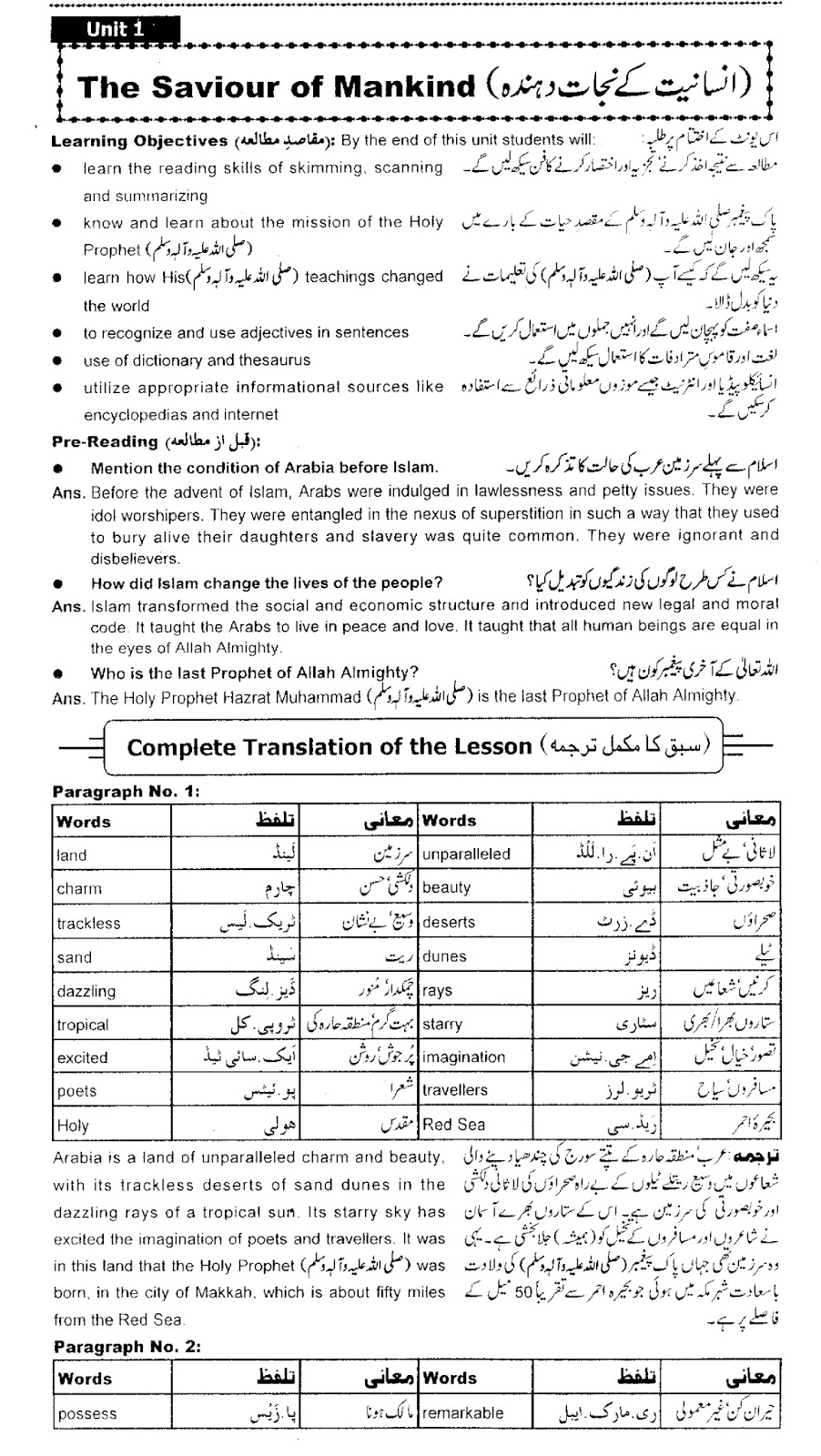 worksheet Mankind The Story Of All Of Us Worksheet Answers ba english notes puuosiub 9th class lesson the saviour of mankind complete translation and questionanswers