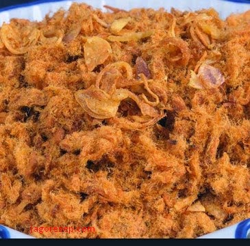 Resep Membuat Abon Sapi Renyah Enak Dan Gurih (Crispy Shredded Beef Recipes Make Delicious and Savory)
