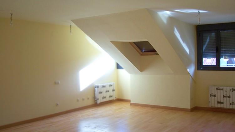 proyecto edificio viviendas interior atico