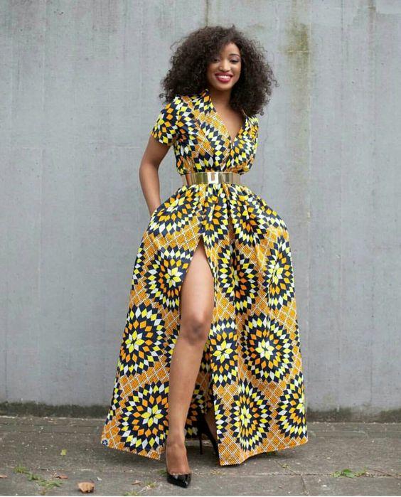African Print Evening Gowns_Evening Dresses_dressesss