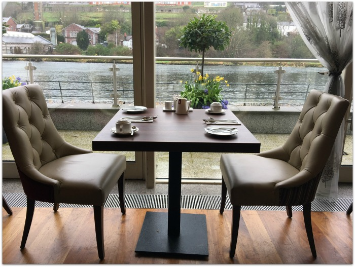 River Lee Views at the Kingsley Hotel in Cork