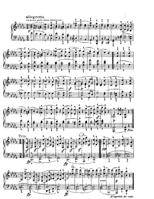 Partitura Piano Beethoven